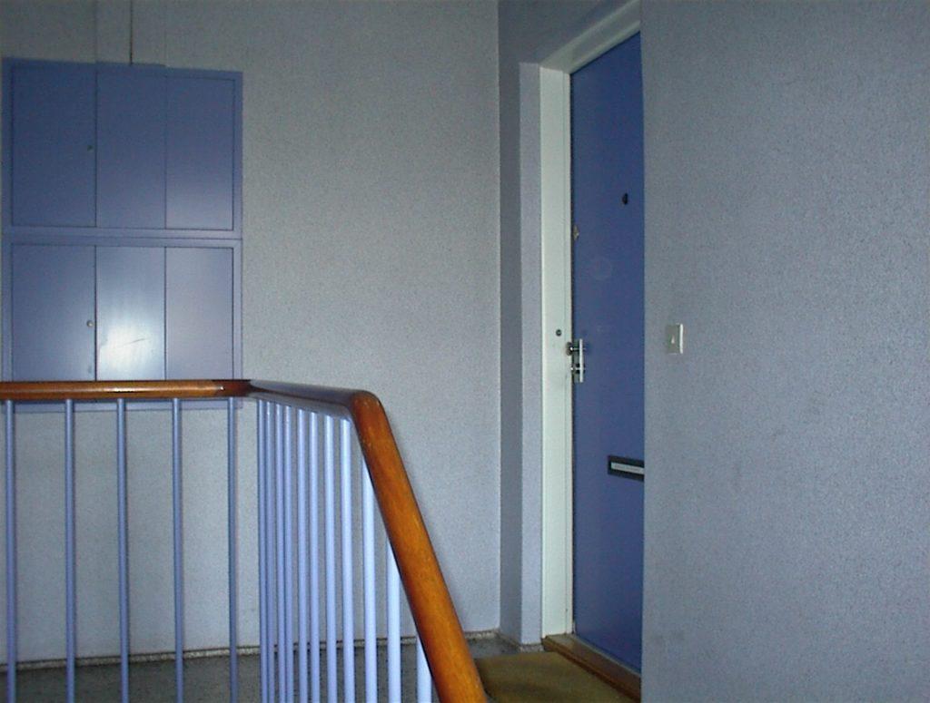9 trapper med flerfarvemaling